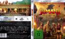 Jumanji: Willkommen im Dschungel (2017) DE 4K UHD Cover