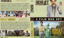 Borat Double Feature R1 Custom DVD Cover