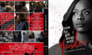 How to Get Away with Murder - Season 4 R1 Custom DVD Cover & Labels