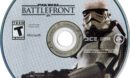 Star Wars Battlefront (2015) NTSC Disc Label