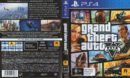 Grand Theft Auto V Australian PS4 Cover
