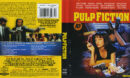 Pulp Fiction (1994) Blu-Ray Cover & Label