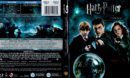 HARRY POTTER AND THE ORDER OF THE PHOENIX (2007) BLU-RAY COVER & LABEL