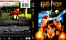 HARRY POTTER AND THE PHILOSOPHER'S STONE (2001) BLU-RAY COVER & LABEL