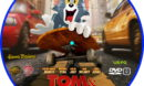 Tom And Jerry: The Movie (2021) R0 Custom DVD Label