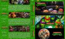 Teenage Mutant Ninja Triple Feature R1 Custom Dvd Cover