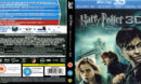 HARRY POTTER AND THE DEATHLY HALLOWS PT 1 3D (2010) BLU-RAY (LENTICULAR) COVER & LABELS