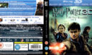 HARRY POTTER AND THE DEATHLY HALLOWS PT 2 3D (2011) BLU-RAY (LENTICULAR) COVER & LABELS