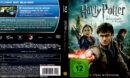 HARRY POTTER UND DIE HEILIGTUMER DES TODES TEIL 2 (2011) (GERMAN) BLU-RAY COVER & LABELS