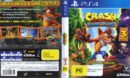 Crash Bandicoot: N. Sane Trilogy (Australia) PS4 Cover