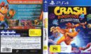 Crash Bandicoot 4: It's About Time (Australia) PS4 Cover