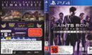 Saints Row: The Third - Remastered (Australia) PS4 Cover