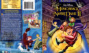 THE HUNCHBACK OF NOTRE DAME II (2002) DVD COVER & LABEL