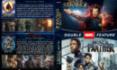 Doctor Strange / Black Panther Double Feature R1 Custom DVD Cover & labels