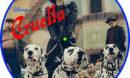 Cruella (2021) R1 Custom DVD Label
