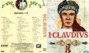 I CLAUDIUS (1976) DVD COVER PT 1 & LABEL