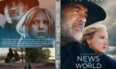 News of the World (2020) Custom Clean DVD Cover