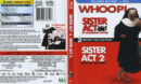 Sister Act & Sister Act 2 Blu-Ray Cover & Labels