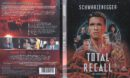 Total Recall - Die totale Erinnerung (1990) DE Blu-Ray Cover & Labels