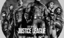Zack Snyder's Justice League (2021) Custom Blu-Ray Label