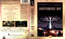 INDEPENDENCE DAY 5 STAR COLLECTION (2000) DVD COVER & LABELS
