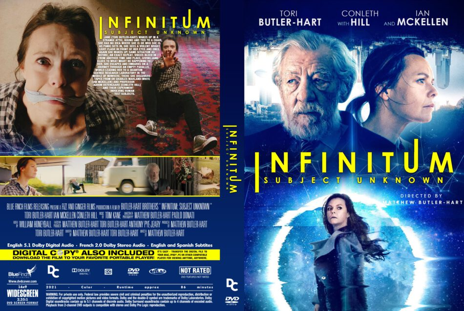 Infinitum: Subject Unknown (2021) R0 Custom DVD Cover - DVDcover.Com