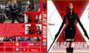 Black Widow (2021) RB Custom Bluray Cover And Label