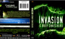 INVASION OF THE BODY SNATCHERS (1978) BLU-RAY COVER & LABEL