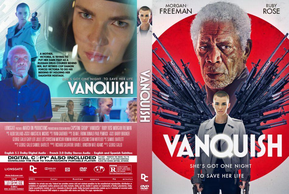 Vanquish (2021) R1 Custom DVD Cover - DVDcover.Com