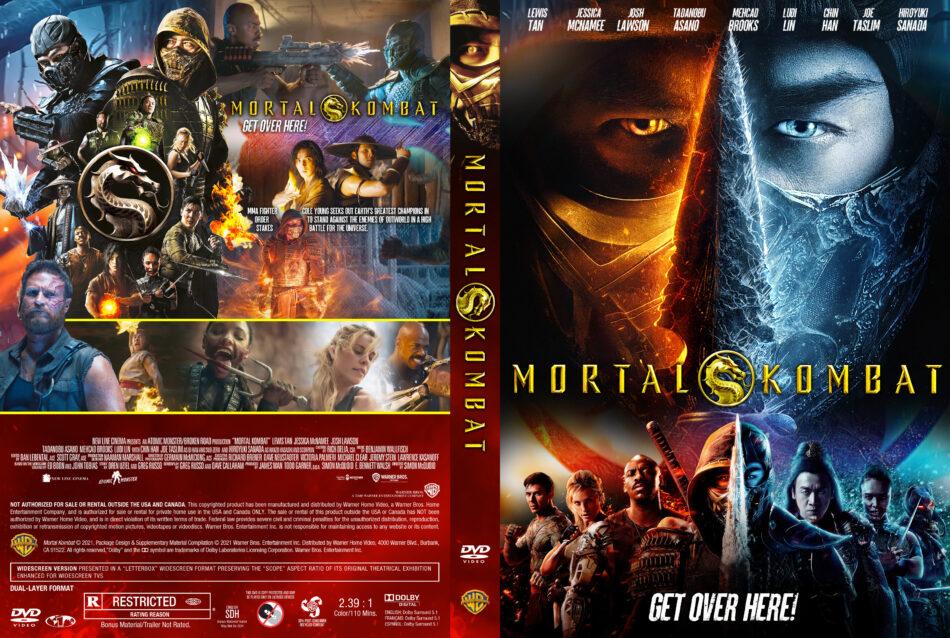 Mortal kombat (2021) R1 Custom DVD Covers - DVDcover.Com