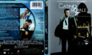 CASINO ROYALE (2006) BLU-RAY COVER & LABEL