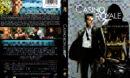 CASINO ROYALE (2006) DVD COVER & LABEL