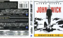 John Wick: Chapters 1 & 2 4K UHD Blu-Ray Cover & Labels