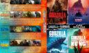 Godzilla vs King Kong Quad R1 Custom DVD Cover