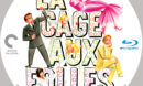 LA CAGE AUX FOLLES (1978) CRITERION COLLECTION CUSTOM BLU-RAY LABEL