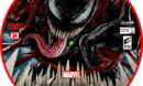 Venom: Let There Be Carnage (2021) R0 Custom DVD Label