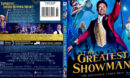 THE GREATEST SHOWMAN (2017) BLU-RAY COVER