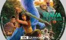 Raya and the Last Dragon (2021) Custom 4K UHD Label