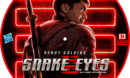 Snake Eyes: GI Joe Origins (2021) R0 Custom DVD Label