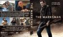 The Marksman (2021) R1 Custom DVD Cover & Label V2