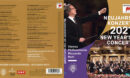 NEW YEAR'S CONCERT 2021 RICCARDO MUTI BLU-RAY COVER & LABEL