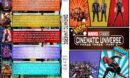 Marvel Studios Cinematic Universe - Phase Three, Part 2 R1 Custom DVD Cover