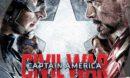 Captain America: Civil War R1 Custom DVD Label