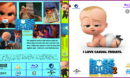 Boss Baby 2 - Family Business (2021) R2 Custom Bluray Cover And Label