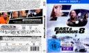 Fast & Furious 8 (2017) DE Blu-Ray Cover