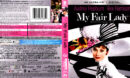 MY FAIR LADY (1964) 4K BLU-RAY COVER & LABEL