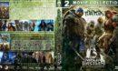 Teenage Mutant Ninja Turtles Double Feature Custom Blu-Ray Cover V2