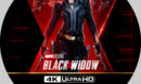 Black Widow (2021) Custom 4K UHD Label