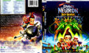 JIMMY NEUTRON BOY GENIUS (2001) DVD COVER & LABEL