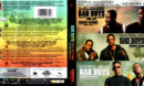 BAD BOYS TRIPLE MOVIE COLLECTION 4K (BAD BOYS 1 & 2 & FOR LIFE) BLU-RAY COVER & LABELS